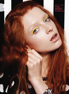 bright eyeliner / nylon magazine