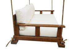 Savannah Bedswing, White   A Space for You   One Kings Lane