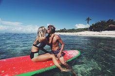 Pull And Bear Collection Surf Neoprene Alexis Ren Jay Alvarrez 7