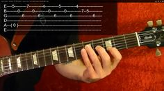 Guitar Lesson - RUSH - Closer to the Heart - With Printable Tabs