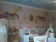 Carousel wall murals,