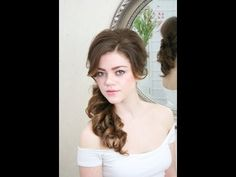 Learn wedding hairstyles on our new Unofficial school of bridal hairstyling! See the full video at www.thebridalbeautysalon.com