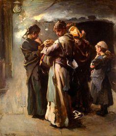 Gone, Frank Holl (1845 – 1888, English)