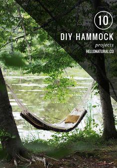 10 Best DIY Hammock Projects
