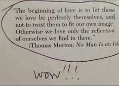 Thomas Merton in love....