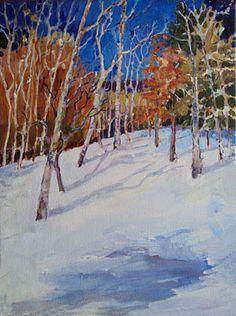 Colorado, Jan 2012 location for paintout.