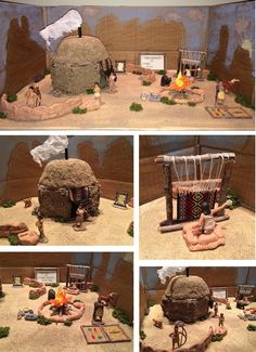#american #project #native #navajo #grade #hogan #thNative American 4th grade project. Navajo Hogan.