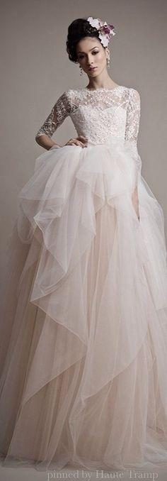 Ersa Atelier Spring 2015 Wedding Dresses | ht