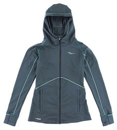 Saucony Omni Full Zip Hoody, Carbon, Small ** More info could be found at the image url. Fashion Hoodies, What Is It Called, Traditional Fashion, Fashion Today, Full Zip Hoodie, Hoody, Modern Fashion, Nike Jacket, Boutique