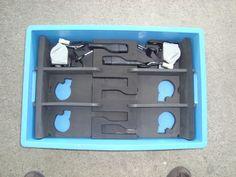 Foam dunnage Foam Packaging, Packaging Design, Design Packaging, Package Design