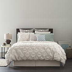 Real Simple® Jules Collection Duvet Cover - BedBathandBeyond.com