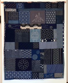 japanese quilt10 by hotglu, via Flickr