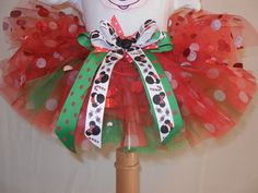 Minnie Mouse Christmas TuTu. $25.00, via Etsy.