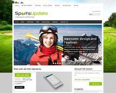 SportsUpdate WordPress theme