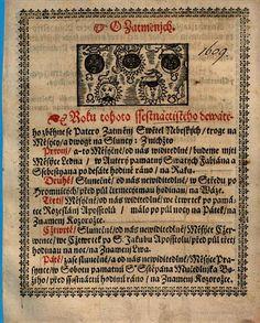 Kalendář Hospodářský a Kancelářský - Gregor Žalud - 1609