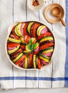 eggplant & summer squash tian