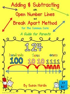 Free Adding and Subtracting On A Number Line! Math Charts, Math Anchor Charts, Teaching Addition, Math Addition, Math Teacher, Teaching Math, Maths, Teacher Treats, Teaching Tools