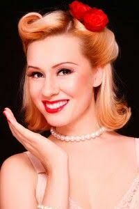 Image result for 1950s hair trends
