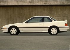1990 Honda Prelude Si AWS This is my car rims and all. So weird. This one is a little clear though. Lol