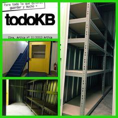Alquiler temporal de trasteros y almacenes en TodoKB selfstorage Pamplona www.todokb.com