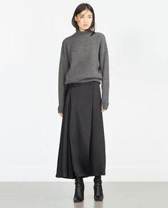 BRIOCHE STITCH SWEATER-Sweaters-Knitwear-WOMAN | ZARA United States
