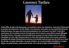 La Pensée Du Jour: Mon Père...(Laurence Tardieu)