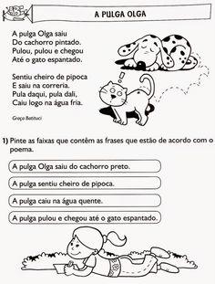 ESPAÇO EDUCAR: Atividades de interpretação de textos para imprimir