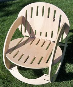 Rocking Chair by Kirk Chadwick, via Behance