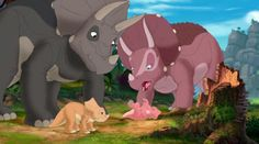 The Land Before Time XII: The Great Day of the Flyers - Animation Screencaps Dinosaur Movie, Dinosaur Art, Land Before Time Dinosaurs, Dino Park, Night Flowers, Finding New Friends, Prehistoric Animals, Lilo And Stitch, Cool Artwork