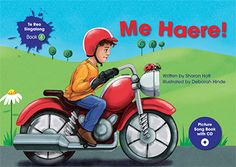 This wonderful Te Reo Singalong book is written in Te Reo with the English translation included at the back of the book. A CD is included with the Me Haere! song along with the guitar chords and extension activities Picture Song, Children's Picture Books, Toddler Books, Childrens Books, Teaching Materials, Teaching Resources, Create This Book, Classroom Themes, Fun Learning