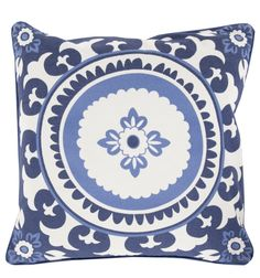 Shades of Blue Pillow
