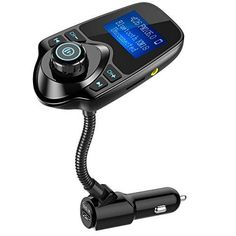 Nulaxy Wireless In-Car Bluetooth FM Transmitter Radio Adapter Car Kit W Inch Display Supports TF/SD Card and USB Car Charger for All Smartphones Audio Players: Cell Phones Accessories: New Releases - Early Bird Special Ipod, Usb, All Smartphones, Free Cars, Car Bluetooth, Bluetooth Gadgets, Car Gadgets, Car Audio, Sd Card