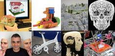 Imagem de Protótipos de impressão 3D - artigo: Usando protótipos para dar forma às ideias.