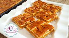 Hasır Börek Tarifi ~  Börek mit Kartoffelfüllung