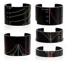 Vintage Camera Lens Bracelets by SDPNT. Every piece is one-of-a-kind and he just opened his store about two hours ago. See more at the link:  http://www.thisiscolossal.com/2013/07/vintage-camera-lens-bracelets-by-sdpnt