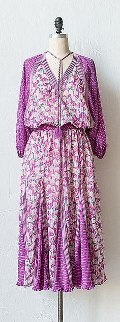vintage 1970s Diane Fres dress
