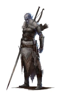 Female Hobgoblin Medium - Ironfang Invasion - Pathfinder PFRPG DND D&D d20 fantasy