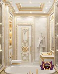 Glamorous Bathroom, Interior Design Companies, Bathtub, House Design, Good Things, Luxury, Home Decor, Ideas, Standing Bath