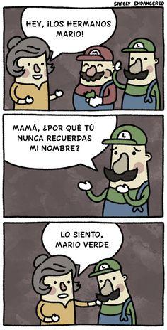 ¡Los hermanos Mario!