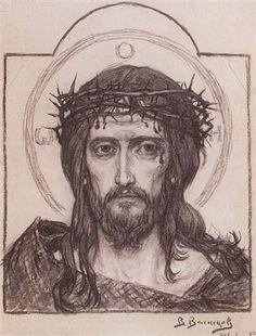 Savior in the Crown of Thorns by Viktor Vasnetsov