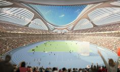 Zaha Hadid Architects has given up its battle for the Tokyo 2020 Olympics stadium after failing to secure a construction company for its design Zaha Hadid Design, Chinese Architecture, Futuristic Architecture, Amazing Architecture, Organic Architecture, Architecture Office, Contemporary Architecture, Zaha Hadid Architektur, Modern Architecture