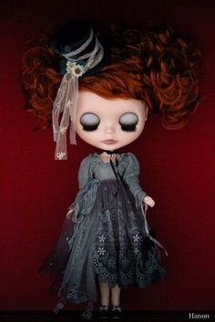 HANON BLYTHE with red hair