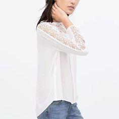 Quinn Lace Long Sleeve