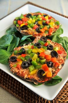 Eat Two of These WHOLE Pizzas for Less than 250 Calories! (Recipe) | Sarah-Jane Bedwell Registered Dietitian - Media Personality - Nutrition Blogger and Food Lover