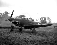 P-39 Airacobra on Henderson Field, Guadalcanal. (US Marine Corps)