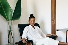 brianwferry:  I photographed Kai Avent-deLeon at home in Bed-Stuy recently for Apiece Apart.