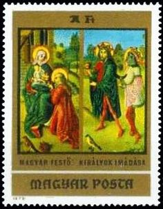 Paintings from Christian Museum, Esztergom King Painting, Stamp Collecting, Postage Stamps, Museum, Christian, Gallery, Paintings, Hungary, Party