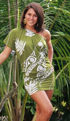 Wahine Toa Designs--Hawane Dress