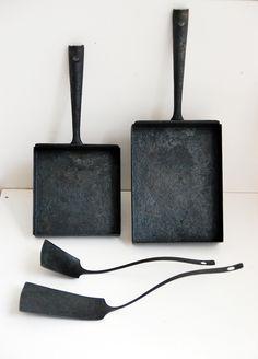 Takeyoshi Narita iron pans and tools.