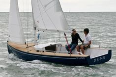 """Dune"". dayboat - daysailer - voilier transportable"